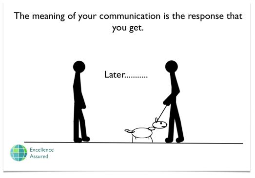 Further empowering belief - communication skills
