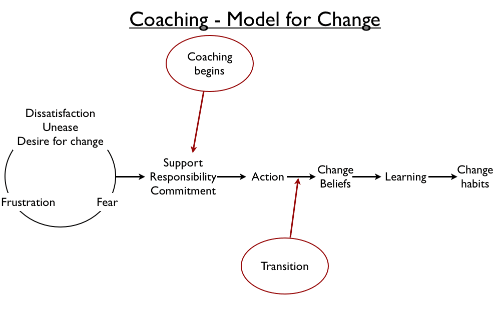 NLP Coaching Model for Change