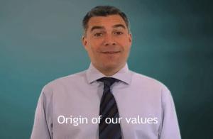 Origin of our values