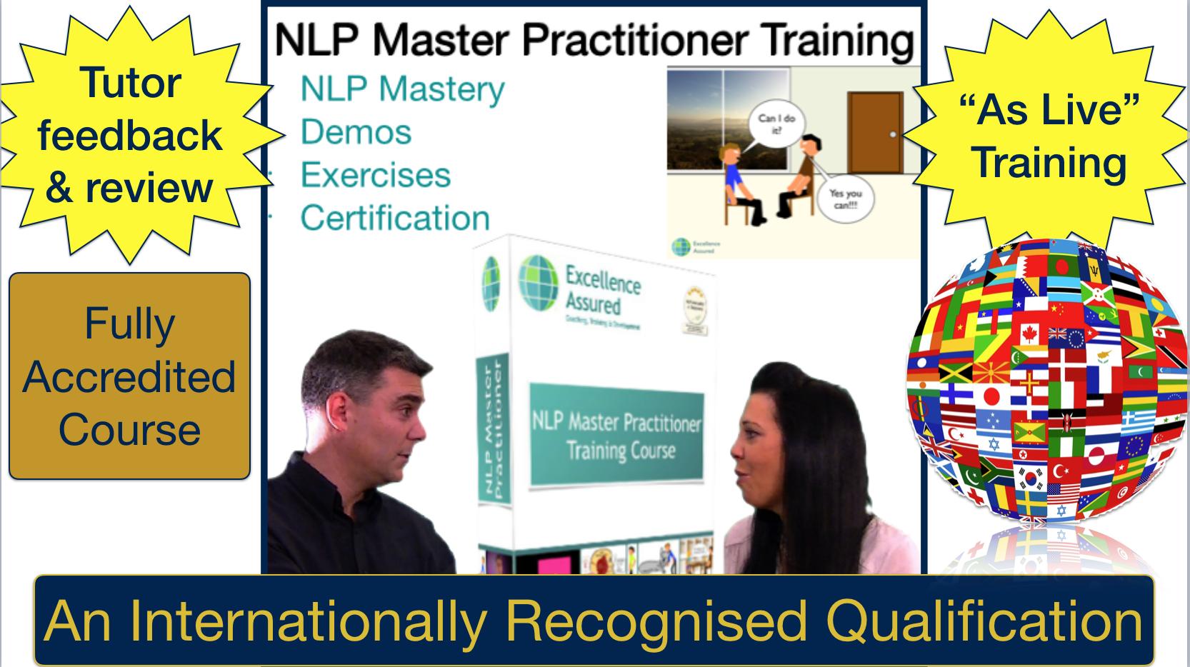 NLP Master Practitioner Training Course - Online plus