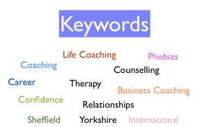 Coaching Keyword Searching