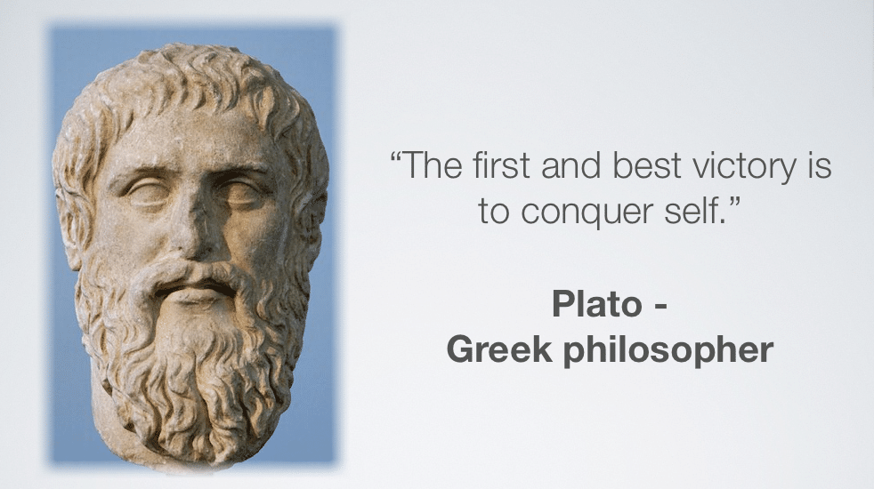 Plato on self leadership