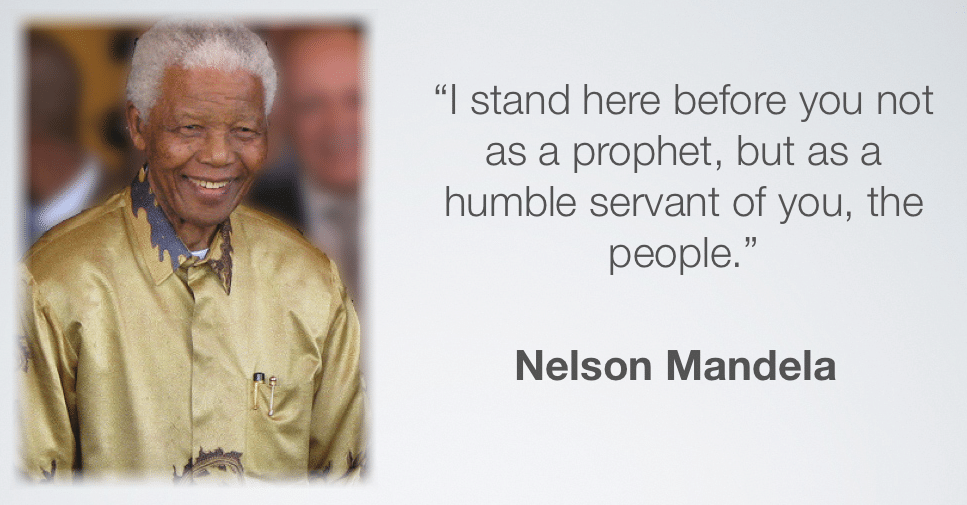 Mandela leadership quote