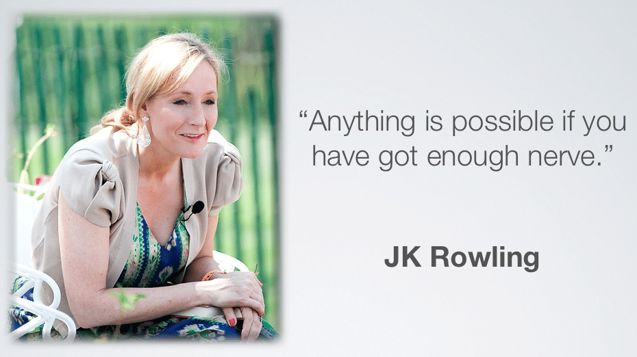 JK Rowling Vision quote