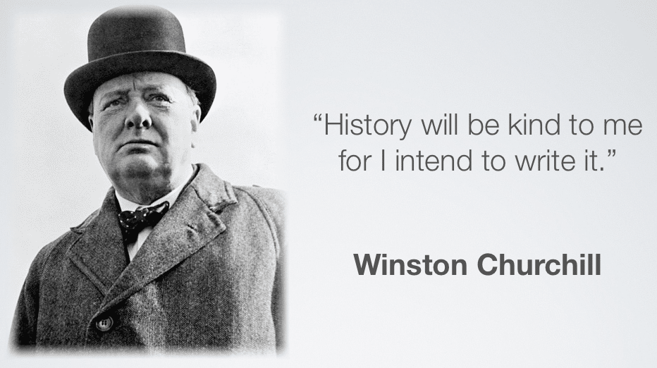Winston Churchill legacy quote