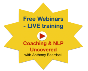 Coaching and NLP Uncovered webinars
