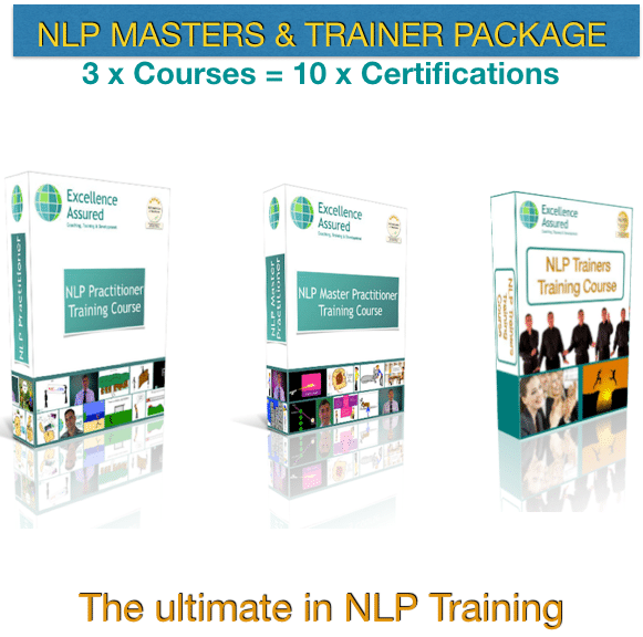 NLP Masters & Trainer Package - the ultimate NLP Training Combination Package