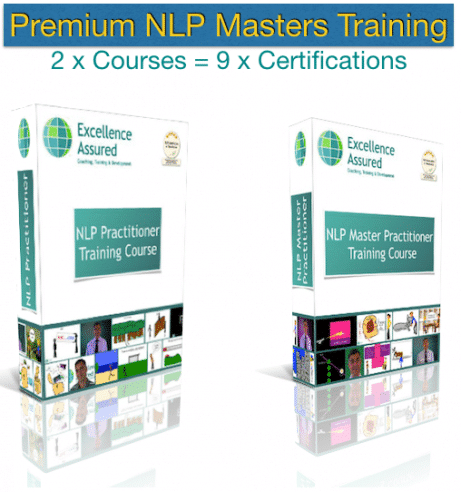 Premium NLP Masters Training Course combination package