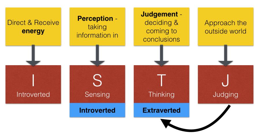 ISTJ Type