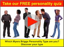 Myers Briggs type personality quiz