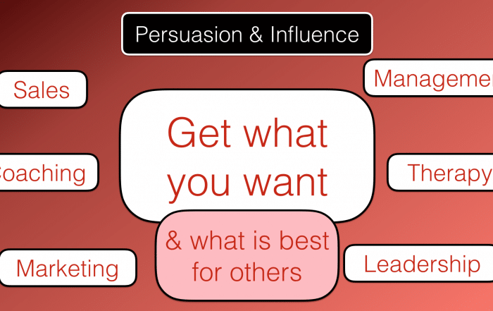 Persuasion & influencing