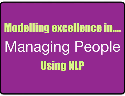 NLP Modelling Exercise – Managing People