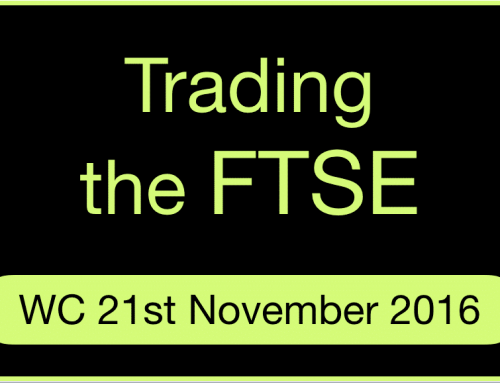 Day trading on the FTSE | November 2016 Week 4