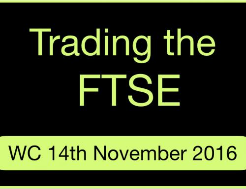 Trading the FTSE | November 2016 | Week 3