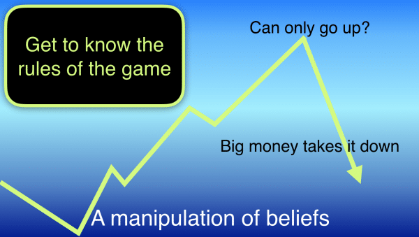 Trading secrets the rule of the game