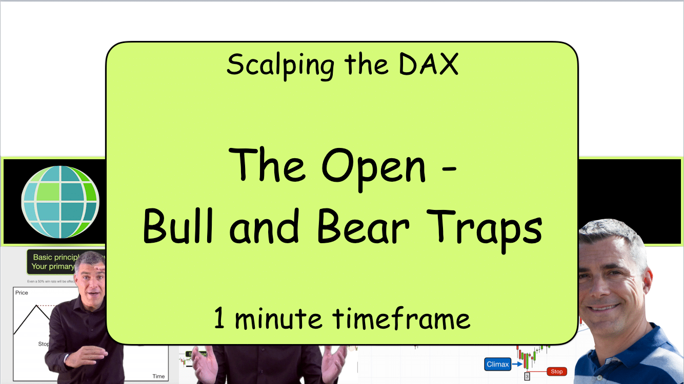 Scalping the DAX The open