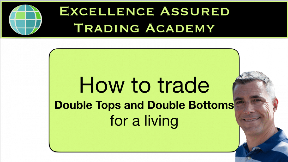 How to trade double tops and double bottoms for a living