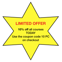 Limited offer on all courses