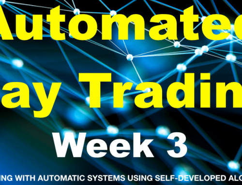 Automatic trading using my own algorithm