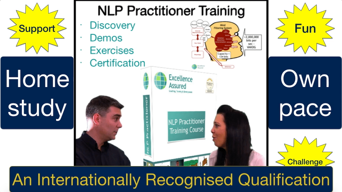 NLP Practitioner Training Course at our NLP Trainining Academy