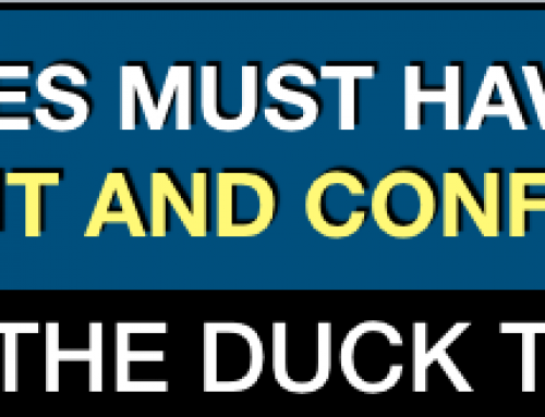All traders must look for Context, Content and Confluence – Do the Duck Test