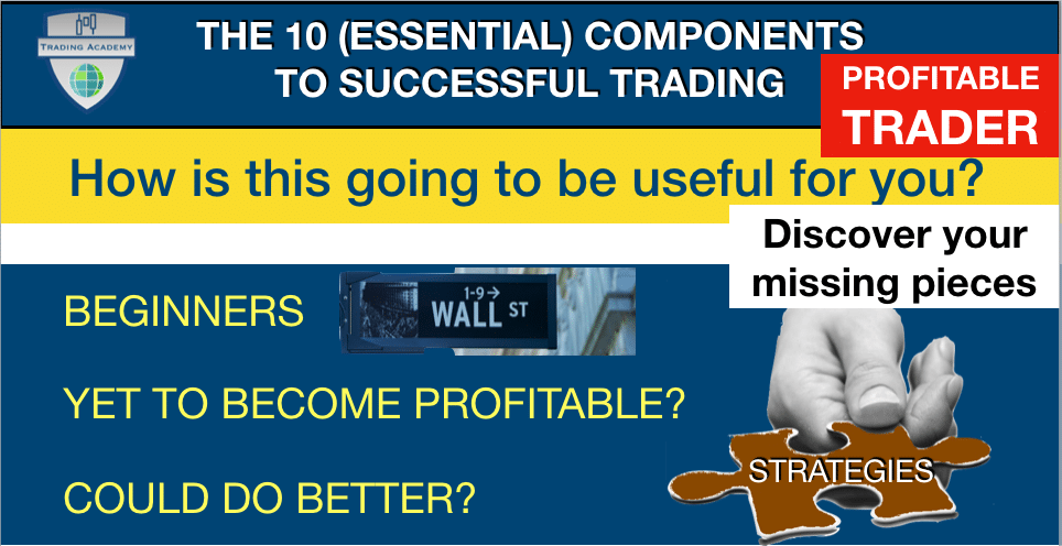 The 10 (Essential) Components to successful trading - Why you must know these 10 things