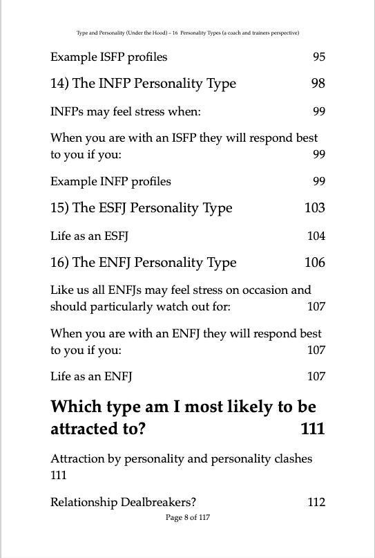 Type & Personality under the hood C6