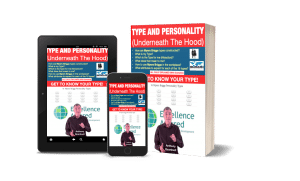 Type and Personality (Under the Hood) – Myers Briggs 16 Personality Types (a coach and trainers perspective) - 3D book multiple devices