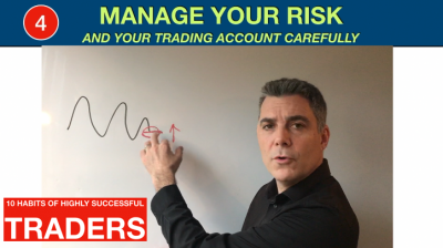 Trading - Manage your risk and your trading account carefully