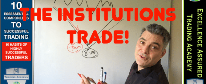 Learn how the instituitions trade
