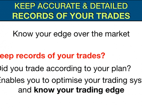 Successful traders Part 8 – Keep accurate and detailed records of your trades
