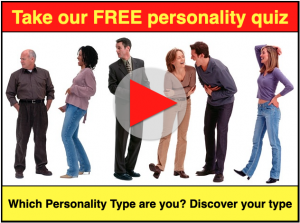 Free Personality quiz - Which Personality Type are you?