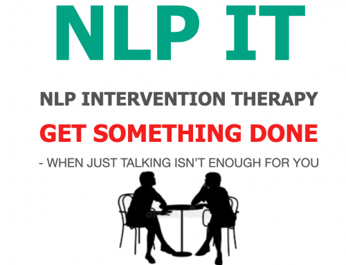 NLP Intervention Therapy (NLPIT) – Get something done